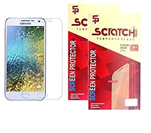 Scratch Pruff Of Tempered Glass For Samsung Galaxy S5 Pack Of 2