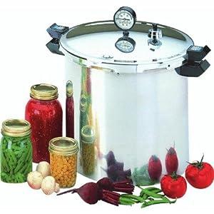 Presto 23-Quart Aluminum Pressure Cooker/Canner