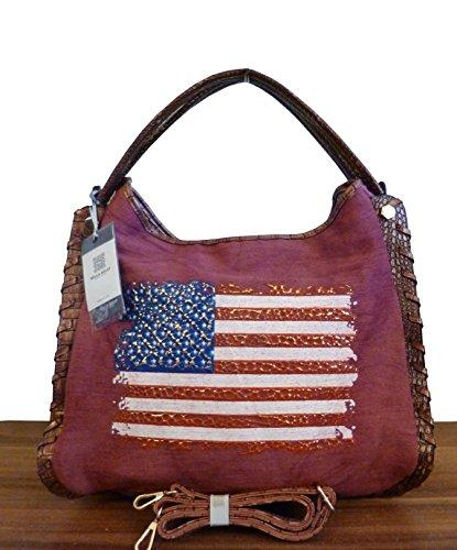 handtasche-shopper-usa-flag-stars-stripes-canvas-weinrot-neu-uvp-67eur