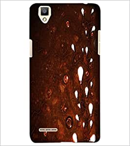 PrintDhaba Light and Wires D-1165 Back Case Cover for OPPO F1 (Multi-Coloured)