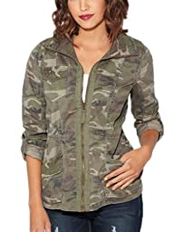 G by GUESS Women's Elsbeth Twill Jacket