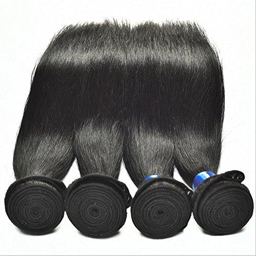 Meydlee AccessoriPosticci Non trasformati Super malese vergine capelli dritti 3 pezzi/lotto buoni prodotti per capelli vergine capelli tessere bundle 100g/ps 3pcs / lotto totale 300g , 14 16 18