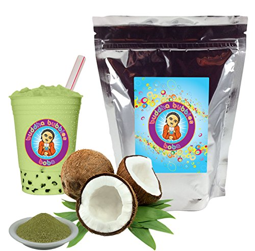 Green Coconut (Pandan) Cream Flavor Powder (1 Lb) [Bubble Tea Powder]