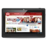Vuru T2 7 Android JellyBean Tablet PC - Multi Touch. 8GB Flash Local Memory. Dual Core CPU. Integrated Dual Camera 2MP - Black - September 2013.