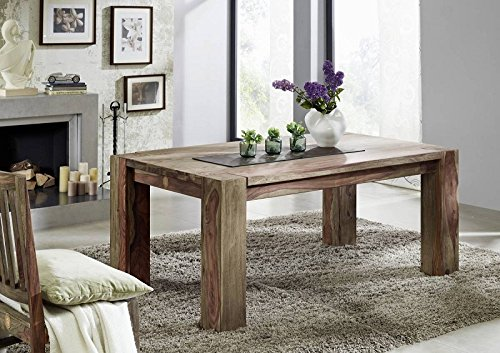 NATURE gris #sheesham table mAMMUT 606/palissandre meubles