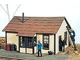HO Scale McDougall Telegraph Office -- 3-1/4 x 2-7/8 x 2-1/8 8.1 x 2.7 x 5.3cm by JL Innovative Design