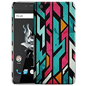 Theskinmantra Build the links back cover for OnePlus X