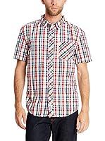 Seventy Seven Camisa Hombre Emb Text Logo (Multicolor)