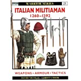 "Italian Militiaman 1260-1392 (Warrior, Band 25)von ""David Nicolle"""
