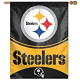 Pittsburgh Steelers Vertical Banner Flag