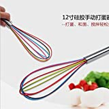 Generic 10 Inch : NEW 2016 Kitchen Gadgets Stirring Whisk Mixer Multifunctional Rotary Egg Beater Eggbeater Randomly...