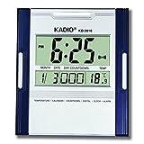 UDee KADIO Digital Jumbo Wall Mount & Table Temperature Display Clock KD-3810