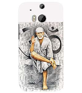 Fuson 3D Designer Back Case Cover For HTC One (M8)