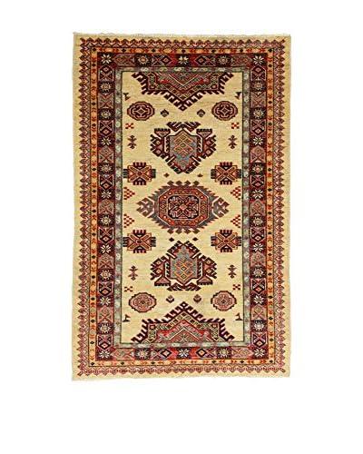 Design Community By Loomier Tappeto Ozbeki Ghazni A Beige/Multicolore 129 x 83 cm