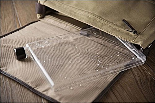 バッグに入れて持ち運びしやすい水筒メモボトル