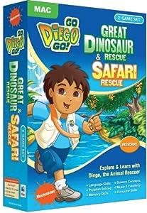 Go Diego Go - Great Dinosaur Rescue and Safari Rescue (Mac)