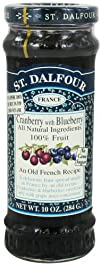 St. Dalfour  Fruit Spread 100 Natural Jam Cranberry with