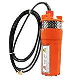 12v /24v Farm & Ranch Submersible Deep Well Dc Solar Water Pump Battery
