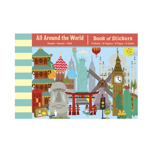 Mudpuppy All Around the World Book of Stickers