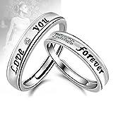 Fairy Heart 結婚指輪 マリッジリング ペアリング シルバーフリーサイズ ベネチアスライド調整 プロポーズ 豪華プレゼントギフトセット