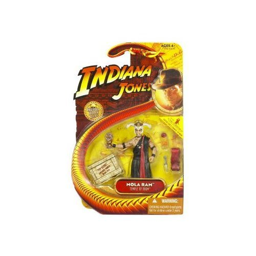 Indiana Jones Movie Hasbro Series 4 Action Figure Mola Ram (Temple of Doom)