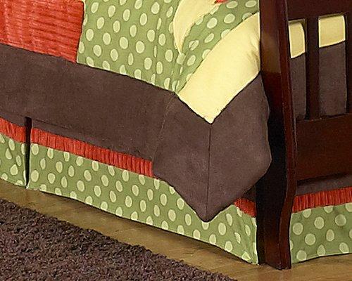 Forest Friends Bed Skirt For Toddler Bedding Sets By Sweet Jojo Designs front-168479