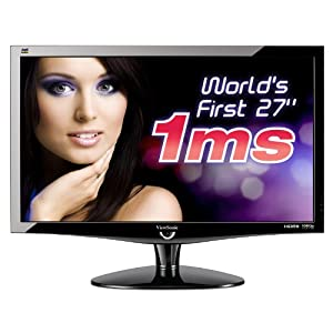 "ViewSonic VX2739WM 27"" Full HD Monitor $349.99 Shipped 51xNSXCyTfL._SL500_AA300_"