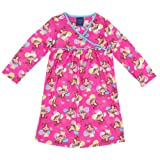 Komar Kids Pink Monkey Nightgown For Girls
