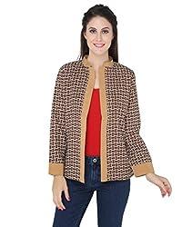 Bedazzle Brown Reversible Jacket