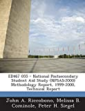 img - for ED467 055 - National Postsecondary Student Aid Study (NPSAS: 2000) Methodology Report, 1999-2000, Technical Report book / textbook / text book