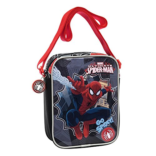 Marvel Tracolla Spiderman, Multicolore, 1.8 Litri, 20 cm