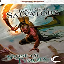 Stone of Tymora (       UNABRIDGED) by R. A. Salvatore, Geno Salvatore Narrated by Ramon DeOcampo