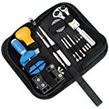 13 Piece Watch Repair Kit Set Wrist Strap Adjust Pin Tool Kit Back Remover Fix
