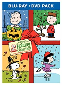 Peanuts Holiday Collection (A Charlie Brown Christmas / It's the Great Pumpkin, Charlie Brown / A Charlie Brown Thanksgiving) [Blu-ray]