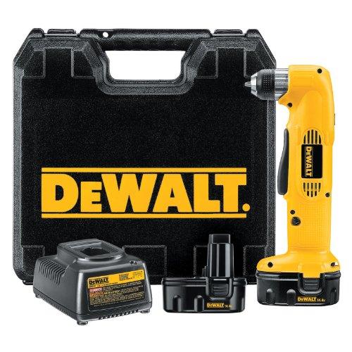 DEWALT DW966K-2 14.4-Volt NiCd 3/8-Inch Cordless Right Angle Drill/Driver Kit