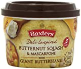 Baxters Butternut Squash and Mascarpone With Butterbeans Soup 400 g (Pack of 8)