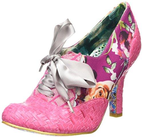 Irregular ChoiceQuillglimmer - Scarpe con Tacco donna , Rosa (Rosa (Pink)), 39 1/3