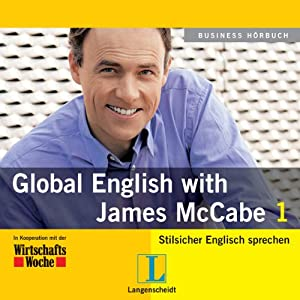 Langenscheidt Global English with James McCabe 1 Hörbuch