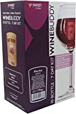 Wine Buddy Merlot 30 Bottle 7 Day Home Brew Red Wine Making Kit