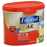 Enfamil A.R. Infant Formula, for Spit-Up, Milk-Based Powder with Iron, For Newborns & Infants 0-12 Months, 21.5 oz.