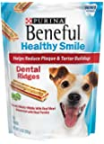 Beneful Healthy Smile Dental Dog Snacks, Small/Medium Ridges, 7.4-Ounce Pouch, Pack of 1