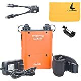 Godox Propac 4500mAh PB960 Flash Power Battery Pack Kit With Dual Output For Godox AD360 AD180 Canon 580EX II 580EX 550EX Nikon SB-900 SB-800 SB-80DX SONY HVL-F58AM HVL-F43AM Metz Flash Includes:(1)Orange PB960 Battery Kit+(1)Pb960 Battery Braceket Q-type
