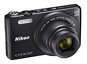 Nikon COOLPIX S7000 Digital Camera with 20x Optical Zoom and Built-In Wi-Fi (Certified Refurbished)