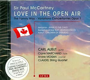 McCartney: Love in the Open Air
