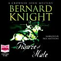Figure of Hate: Crowner John Mysteries (       UNABRIDGED) by Bernard Knight Narrated by Paul Matthews