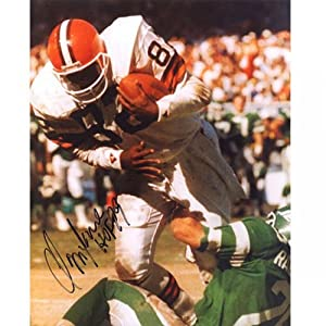 Ozzie Newsome HOF 99 Autographed Signed 8x10 Photo - Cleveland Browns by Hollywood Collectibles