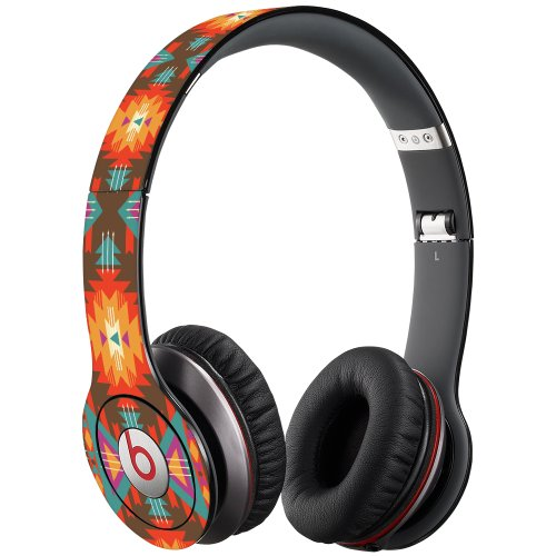 Aztec Tribal Decal Skin For Beats Solo Hd Headphones By Dr. Dre