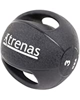TRENAS - médecine-ball professionnel avec des poignées PRO - 3 kg - 4 kg - 5 kg - 6 kg - 7 kg - 8 kg - 9 kg - 10 kg