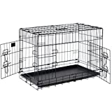 Pet Trex 2301 PT2301 30 Inch Pet Crate Folding Pet Crate Kennel for Dogs, Cats or Rabbits, 30