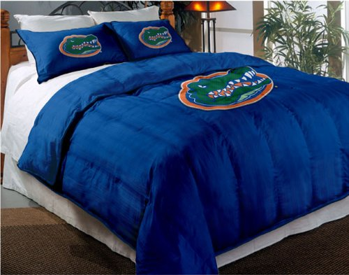 Florida Gators Comforter Set: Twin Comforter with Shams